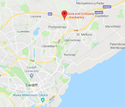 Cardiff Office Map