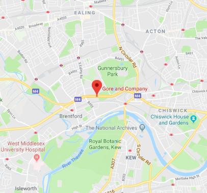 London Office Map